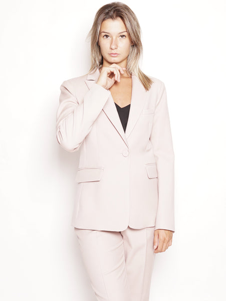 Pinko Quintino - Giacca in misto lana Rosa Trymeshop.it