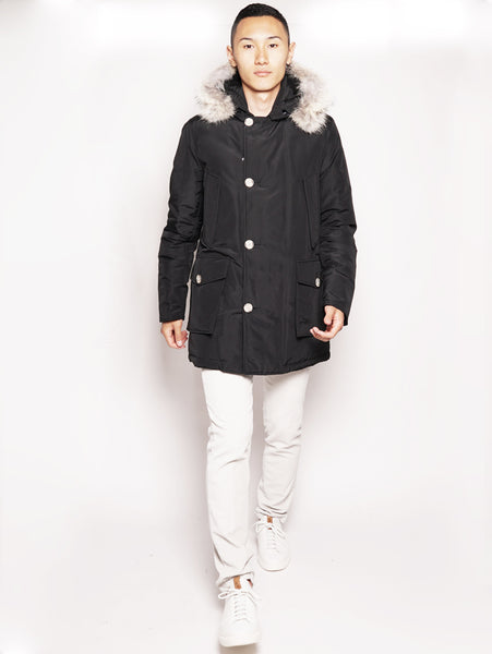 ARTIC PARKA DF Nero