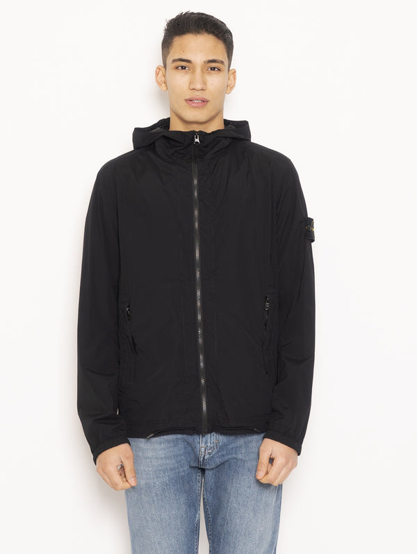 STONE ISLAND-Giaccheto Packable 43831 Nero-TRYME Shop