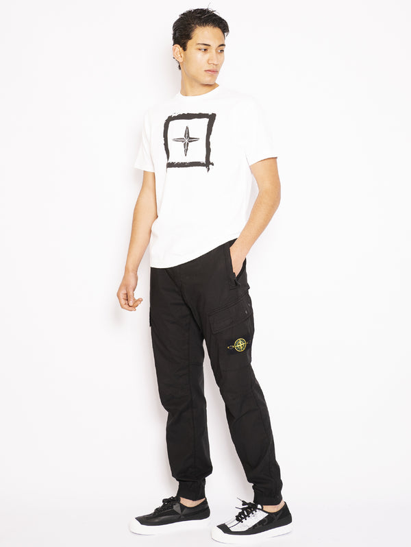 Cargo pants with Black Elastic