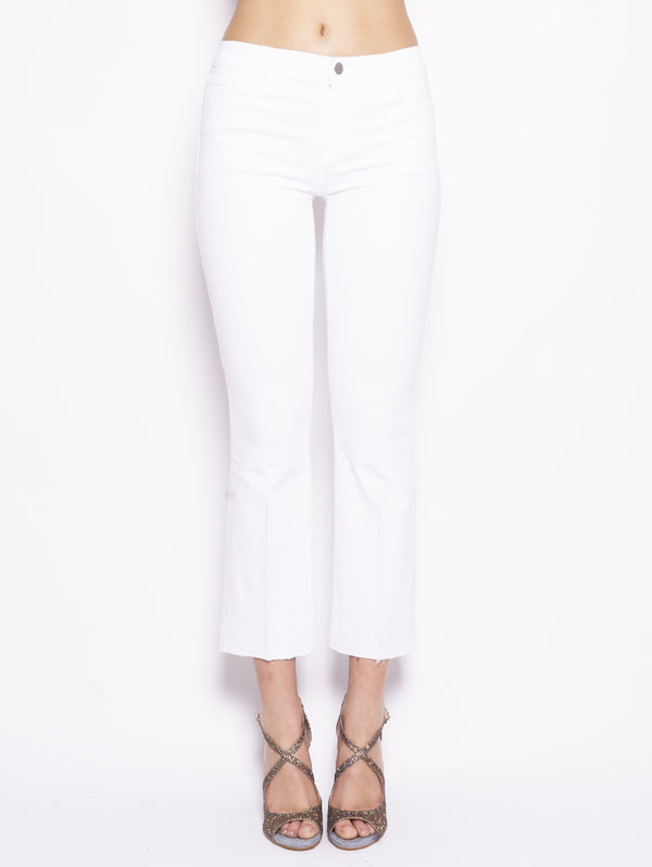 J BRAND-Jeans Selena Mid-Rise Crop Boot Bianco-TRYME Shop
