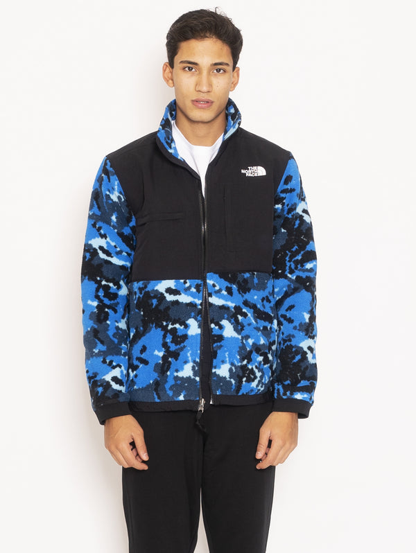THE NORTH FACE-Giacca in Pile Camouflage - Blu-TRYME Shop