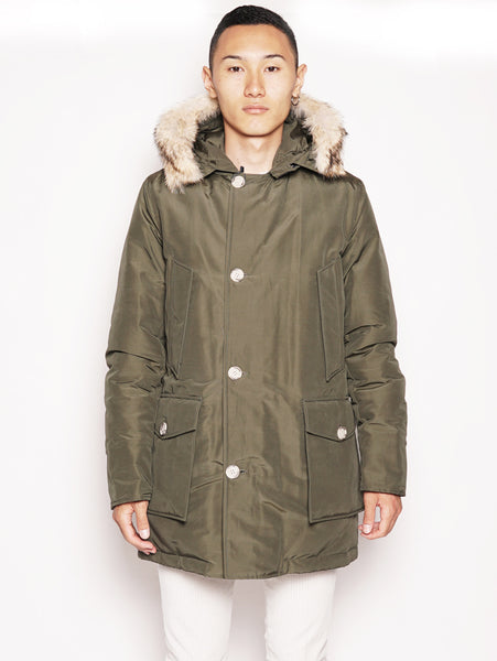 WOOLRICH ARTIC PARKA DF Verde Trymeshop.it