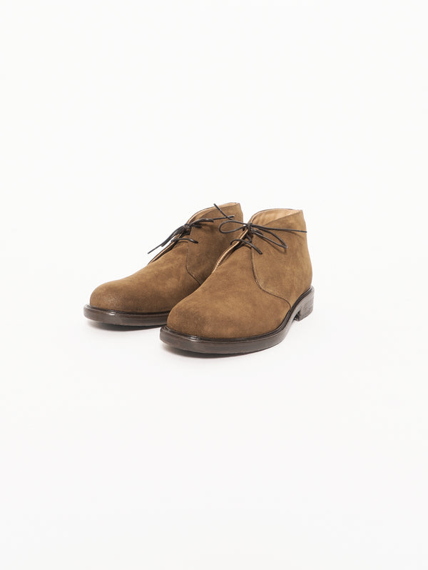 4303 Hydrovelour - Suede ankle boot - Kaky
