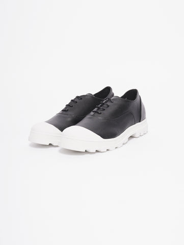 CHIARINI BOLOGNA Sneaker in pelle e gomma Nero Trymeshop.it