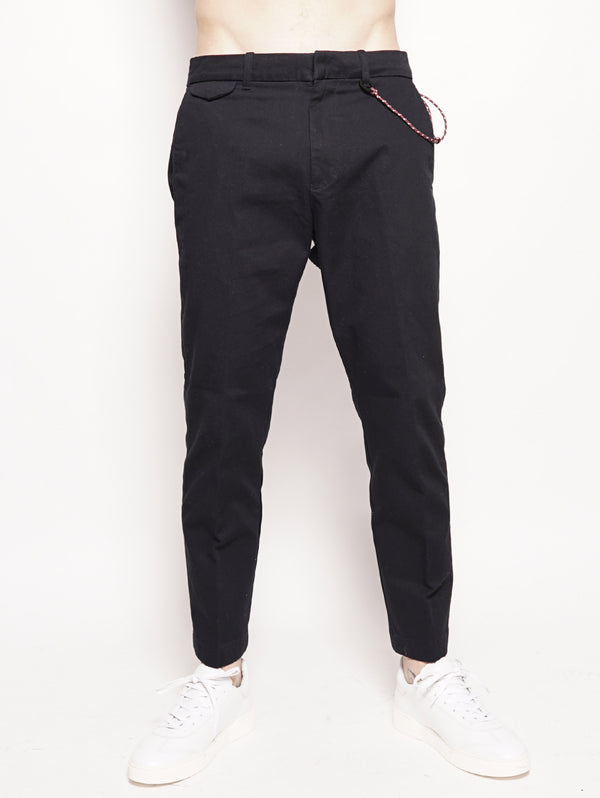 Atelier Cropped Japanese Chino Nero-Pantaloni-CLOSED-TRYME Shop
