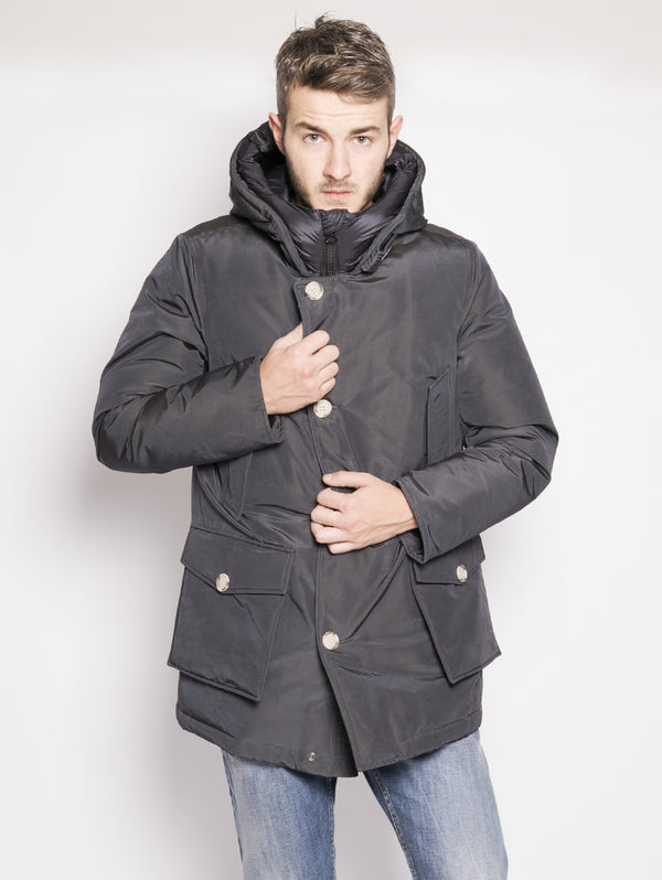 WOOLRICH-Parka Arctic Nf Grigio-TRYME Shop