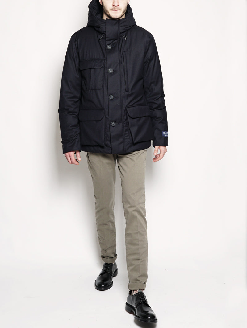 Lp Mountain Jacket Blu-Jacket-WOOLRICH-TRYME Shop