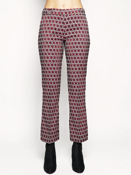 Pantalone dritto Bordeaux
