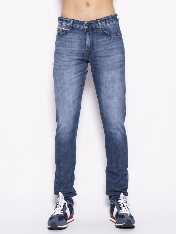 Denim Ribot-L 39145 Blu