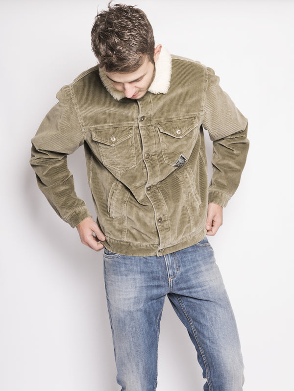 Simply Lamb Superior Verde-Jacket-ROY ROGERS-TRYME Shop