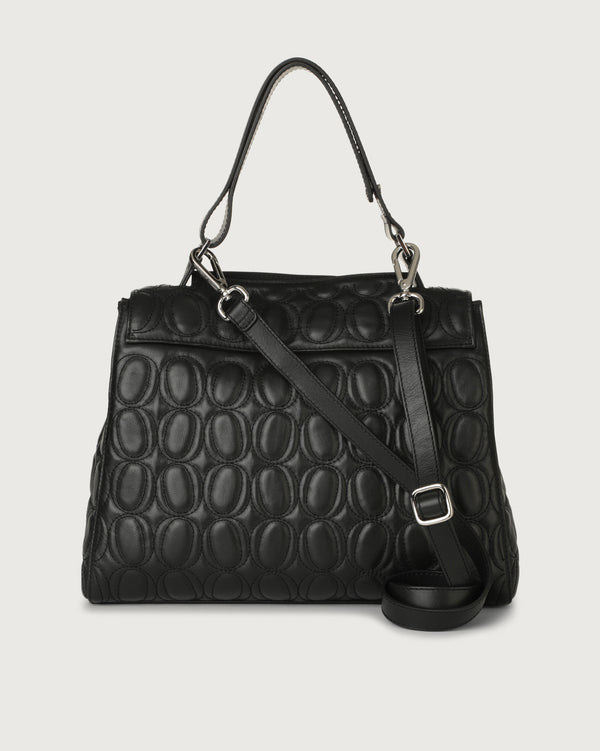 Sveva Small Monogram Small Handbag - Black