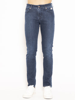 ROY ROGERS-Jeans Stretch Vici Blu-TRYME Shop