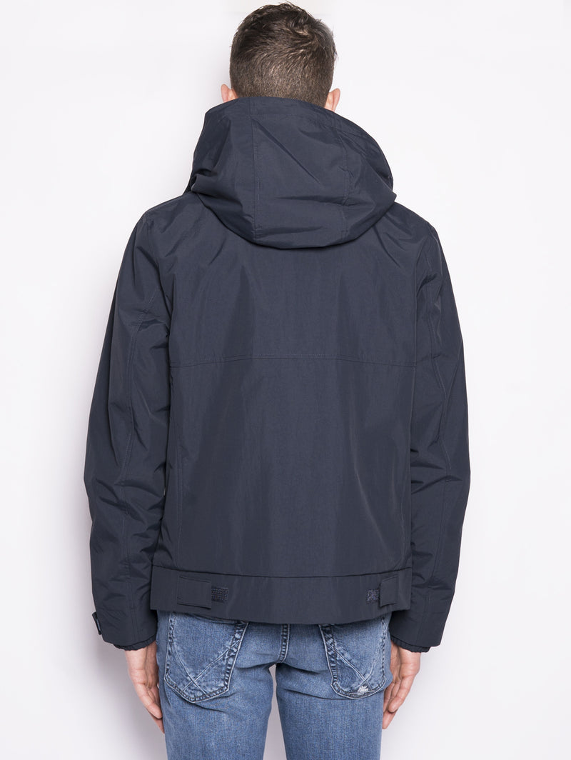 Sailing Jkt Hc - Giacchetto antivento Blu-Jacket-WOOLRICH-TRYME Shop