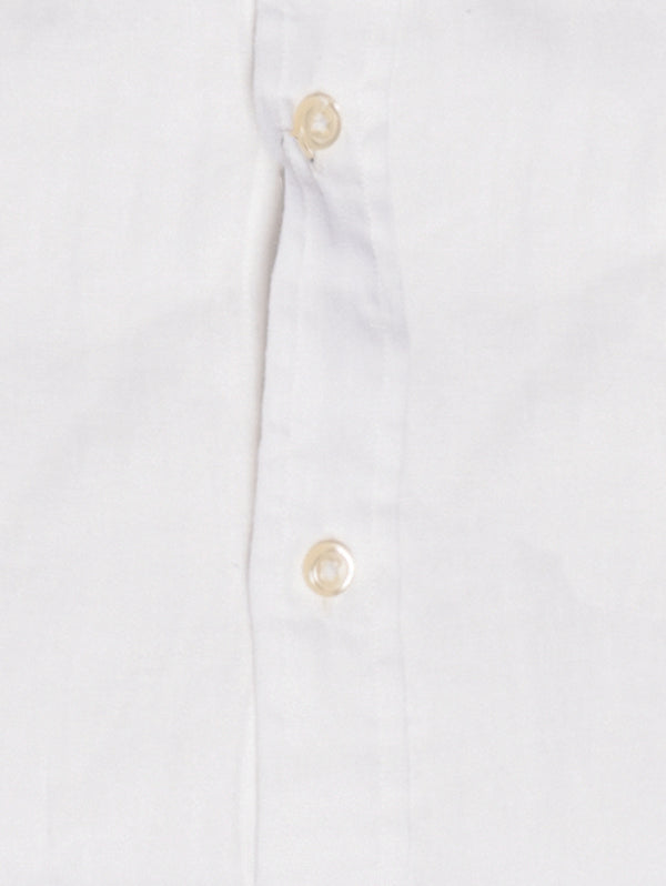 Camicia in Lino Slim Fit Bianco