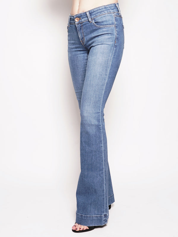 LOVE STORY LOW - RISE FLAIRE Denim-Jeans-J BRAND-TRYME Shop