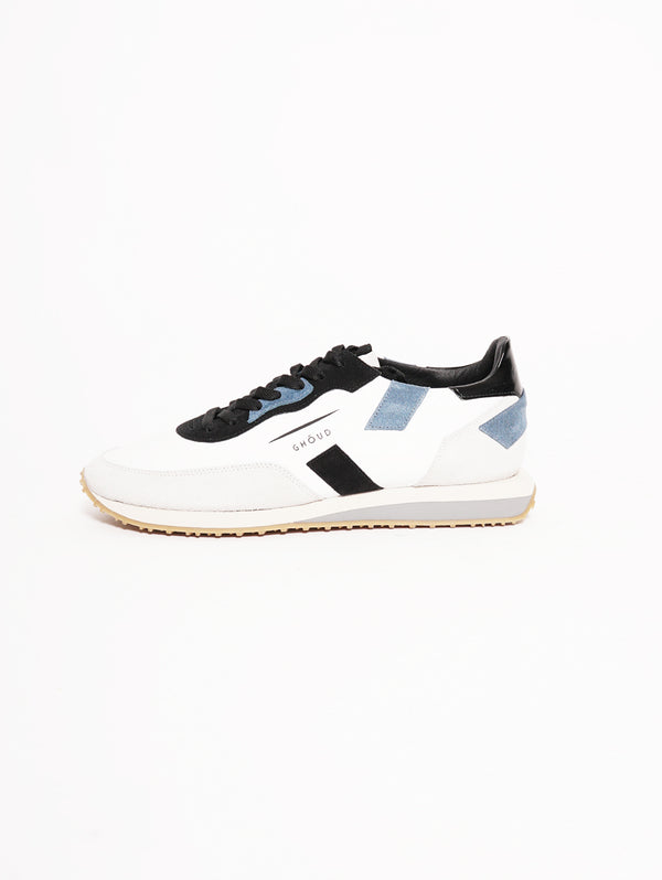 Sneakers Man RUSH Bianco-Scarpe-GHOUD-TRYME Shop