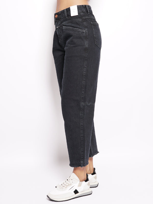 Jeans effetto used Nero-Jeans-CLOSED-TRYME Shop