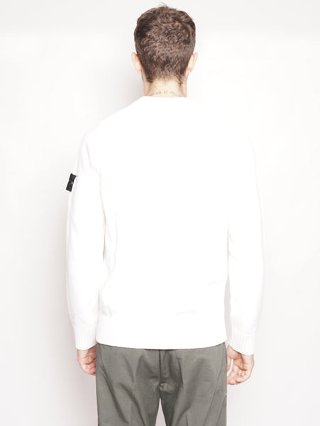 552A3 - Maglia in lambswool Bianco