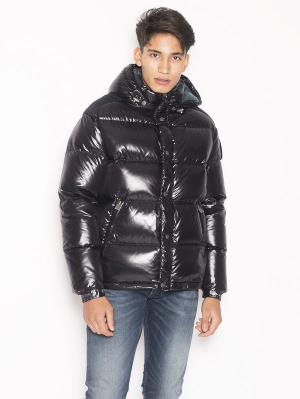 KOBY - Real down Jacket Nero