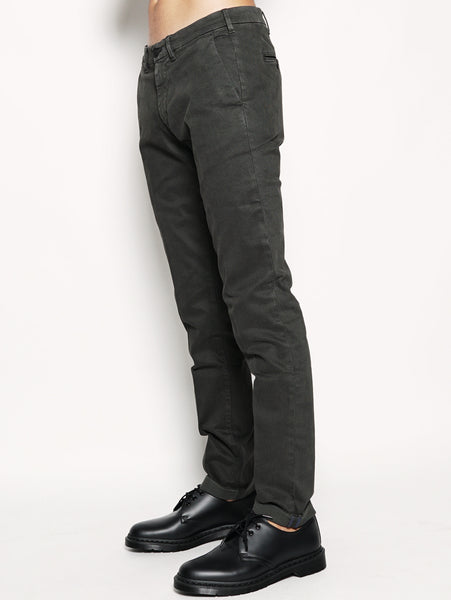 40WEFT LENNY - Pantaloni Chinos Verde Trymeshop.it