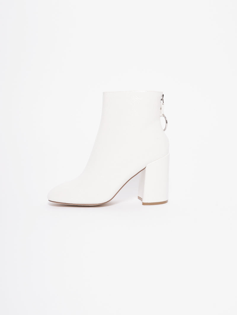 STEVE MADDEN-Tronchetto Posed Bianco-TRYME Shop