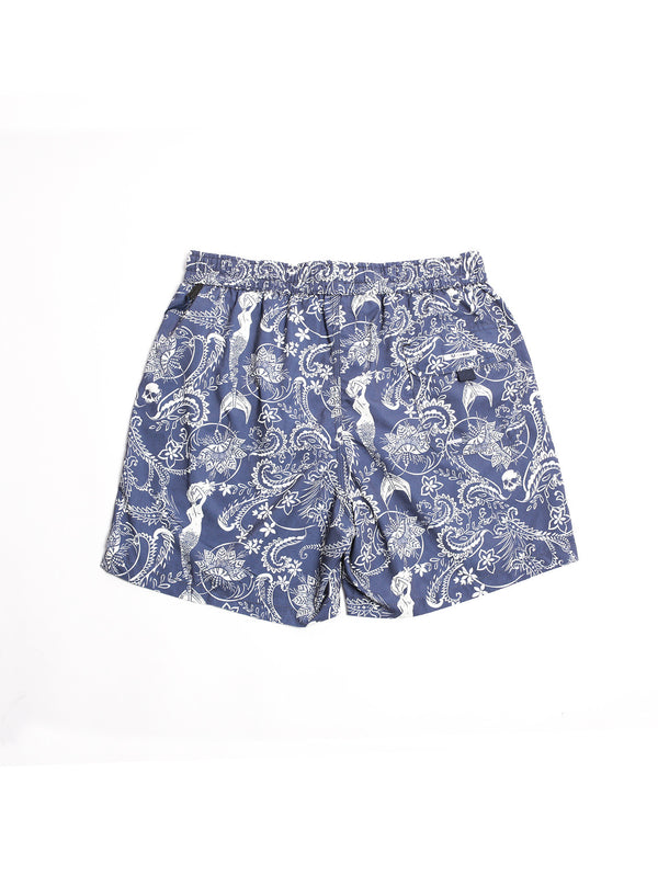 Boxer Mermaid Blue/White-Costumi-in the box-TRYME Shop