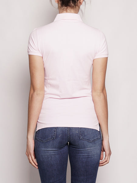 RALPH LAUREN Polo Stretch Slim-Fit Rosa Trymeshop.it