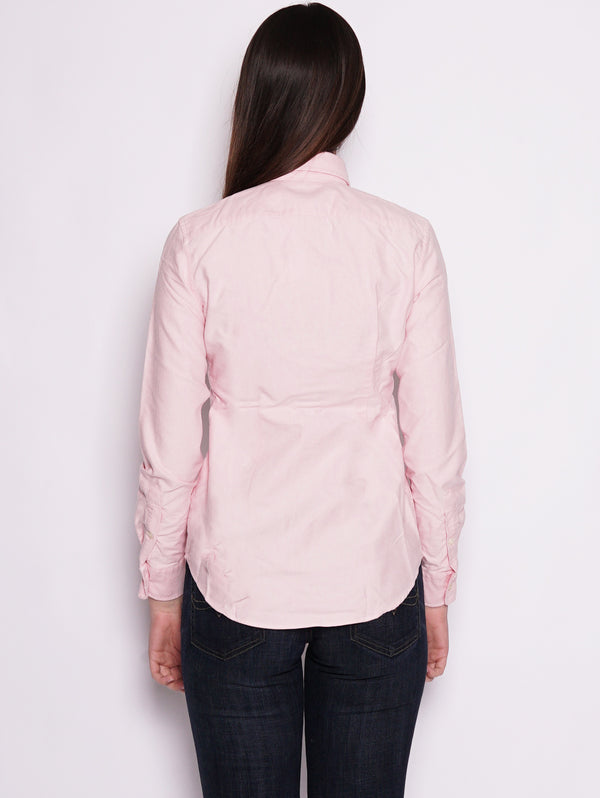 Camicia Oxford in cotone Custom-Fit Rosa-Camicie-RALPH LAUREN-TRYME Shop