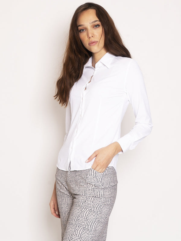Camicia Super Stretch - Bianco