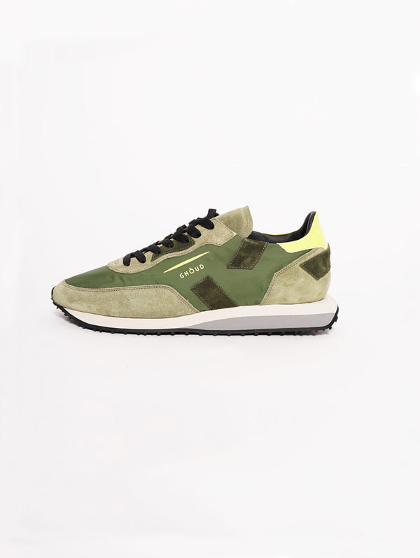GHOUD-Sneakers Men RUSH Verde-TRYME Shop