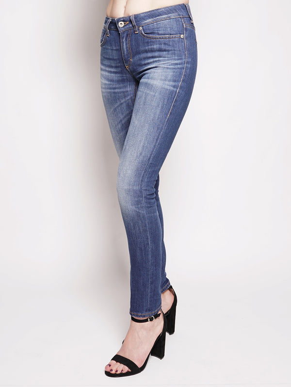 Jeans skinny in denim stretch Denim-Jeans-dondup-TRYME Shop