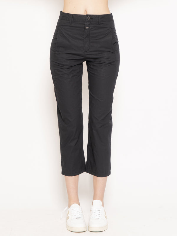 CLOSED-Pantalone Ludwing Nero-TRYME Shop