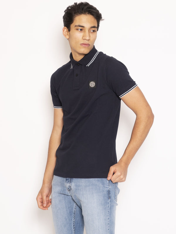 Polo Slim Fit - Blu