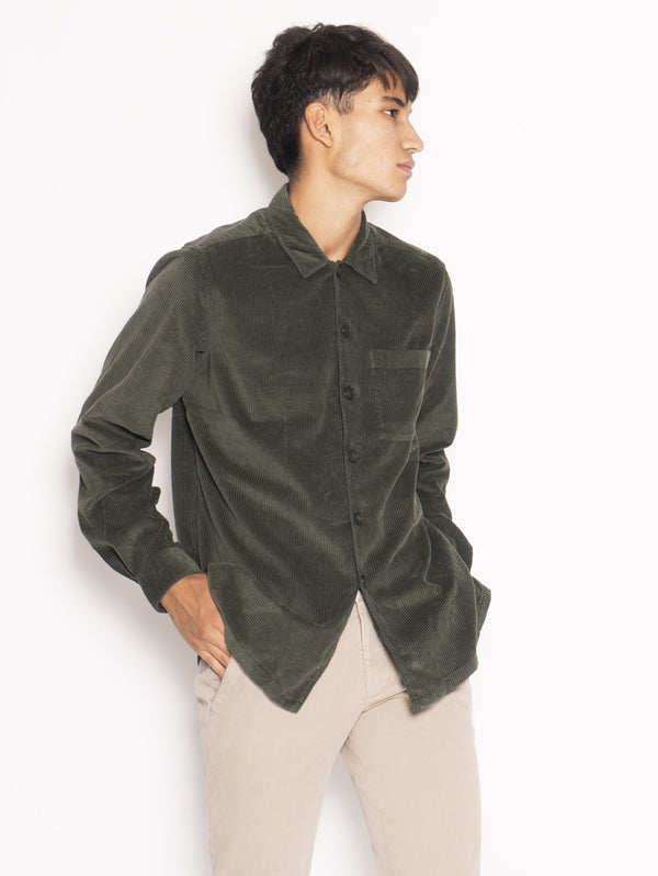 Giacca Camicia Heritage Verde