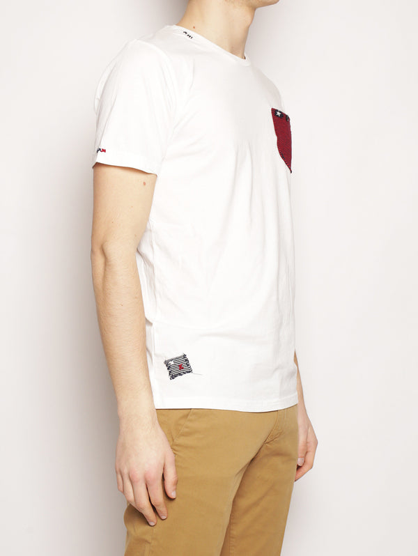 T-Shirt Classic Pocket Off White-T-shirt-in the box-TRYME Shop