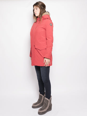 MUSEUM Parka - Lady Ontario Rosso Trymeshop.it