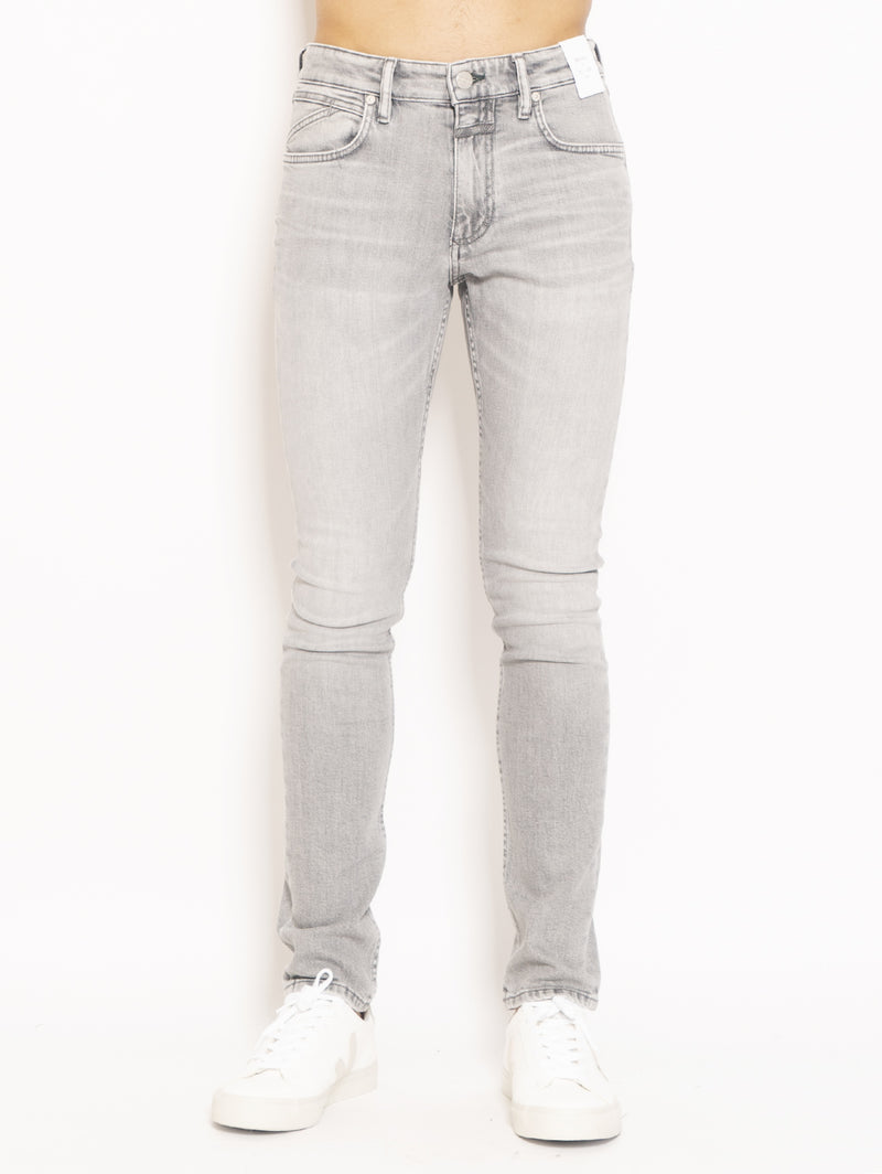 CLOSED-Jeans Pit Skinny Grigio-TRYME Shop