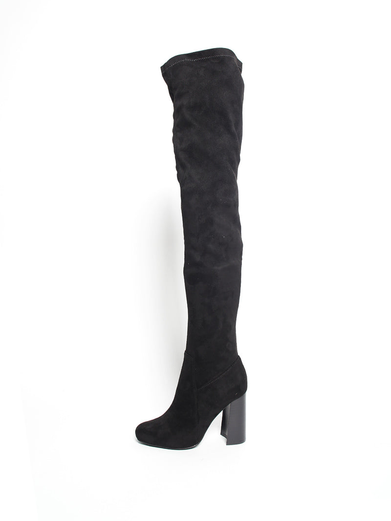 Jeffrey Campbell SARCOSA SUEDE JCSJ21920 BLACK-Scarpe-Jeffrey Cambell-TRYME Shop
