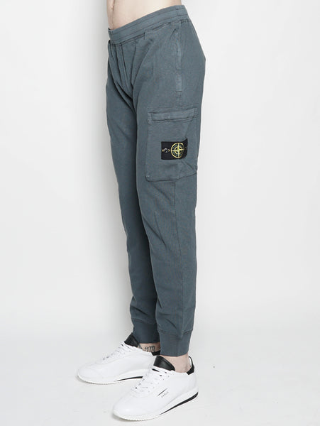 61660 T.CO+OLD PANTALONI JOGGING Muschio STONE ISLAND TRYMEShop