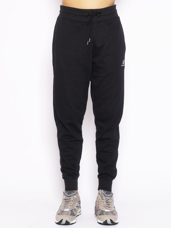 NEW BALANCE-Pantaloni in felpa Nero-TRYME Shop