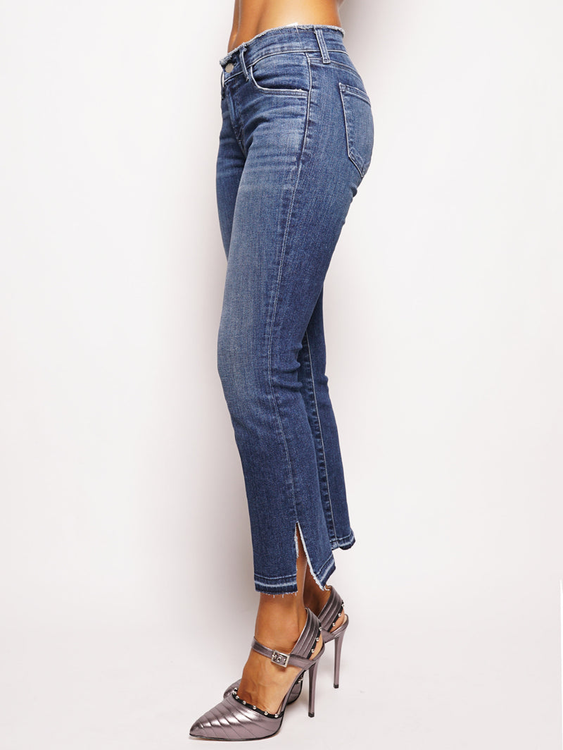 Selena Mid-Rise Croop Boot Denim-Jeans-J BRAND-TRYME Shop