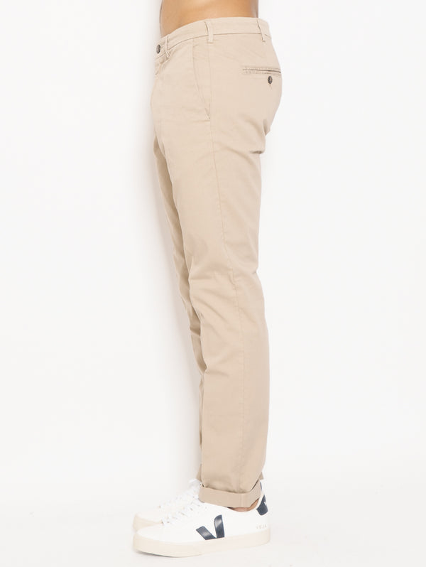 Chino in Cotone Lenny Beige