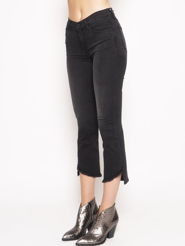 Jeans Selena Mid-Rise Croop Boot Nero
