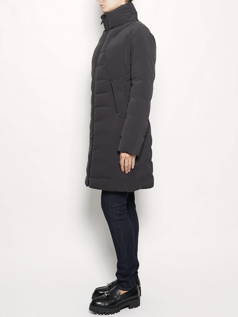 Cappotto slim fit Nero-Cappotto-ASPESI-TRYME Shop