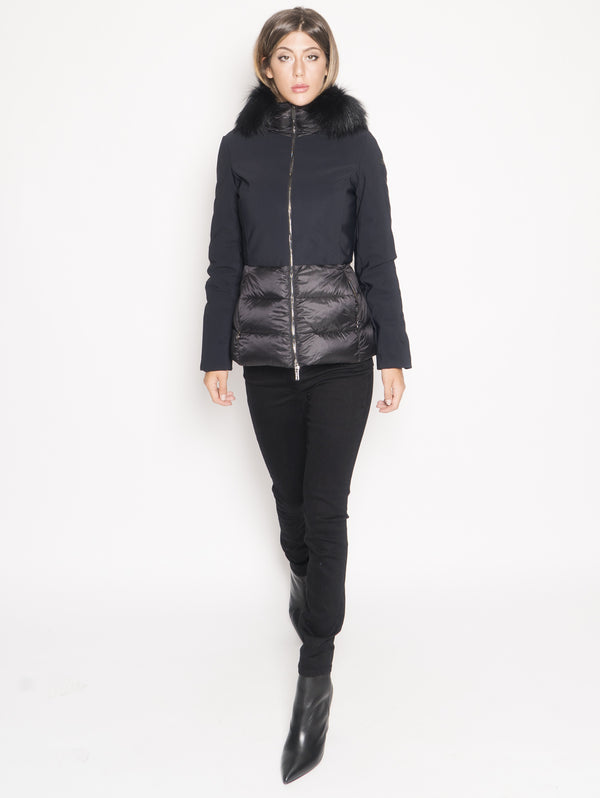 RRD-Piumino Winter Hibrid Hood Nero-TRYME Shop
