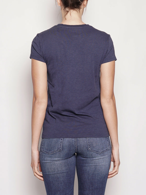 Maglietta Polo in jersey Blu-T-shirt-RALPH LAUREN-TRYME Shop