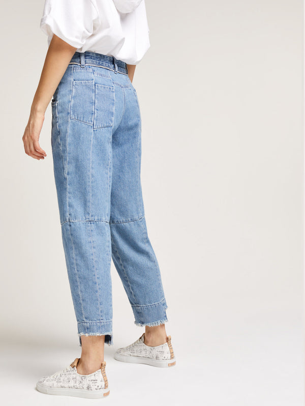 Denim Pedal Pusher Closed per Girbaud Denim-Jeans-CLOSED-TRYME Shop