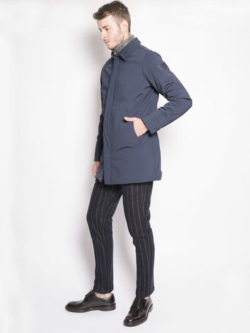 MUSEUM Cappotto techno stretch - Leader Blu Trymeshop.it
