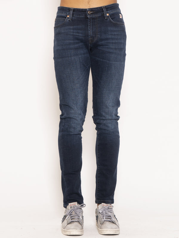 ROY ROGERS-Jeans Slim Fit 517 - Blu-TRYME Shop